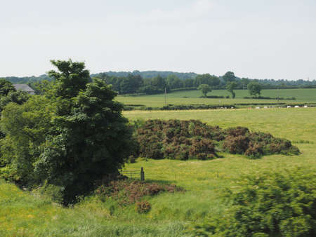 View of the countryside near Belfast, UK