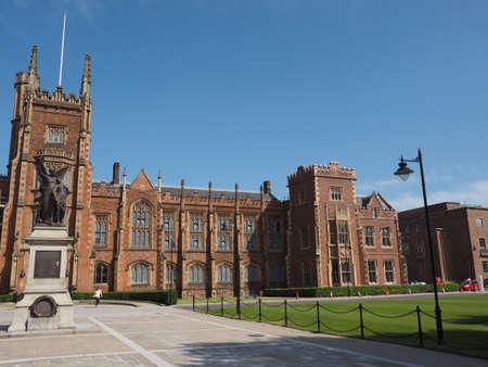 BELFAST, UK - CIRCA JUNE 2018: The Queen University