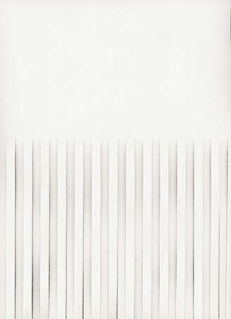 Foto de Half shredded blank page with copy space useful as a background - Imagen libre de derechos