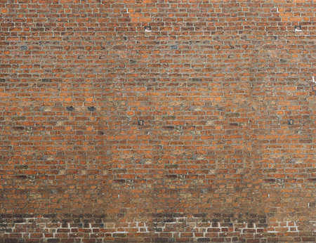 Photo pour red brick wall useful as a background - image libre de droit