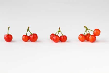 A row of cherry
