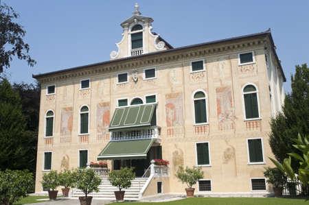 Riviera del Brenta (Veneto, Italy) - Villa Soranzo (16th century) with frescos by Benedetto Caliari (1538-1598)