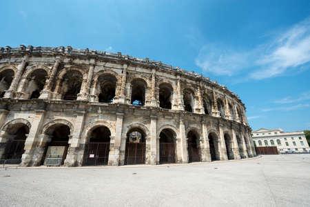 Nimes (Gard, Languedoc-Roussillon, France), Les Arenes, Roman Amphitheatre