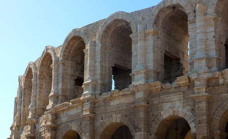 Arles (Bouches-du-Rhone, Provence-Alpes-Cote-d'Azur): Les Arenes, Roman theatre