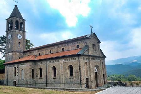 Oltrepo Pavese (Pavia, Italy), Nostra SIgnora di Montelungo, historic church near Carmine