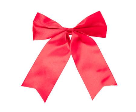 Foto für Red bow isolated on white background. - Lizenzfreies Bild