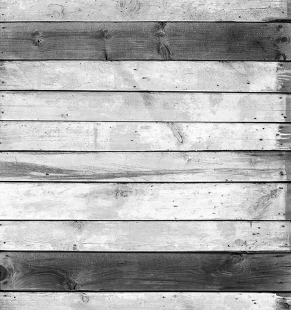 Black And White Wood Wall