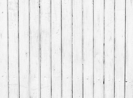 Weathered White Wood Planks