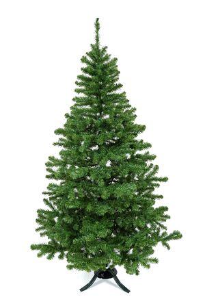 Photo pour A plastic christmas tree. - image libre de droit