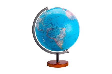 Photo for A globe is a spherical model of Earth, of some other celestial body, or of the celestial sphere. - Royalty Free Image