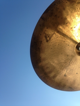 Cymbal in the cloudless sky