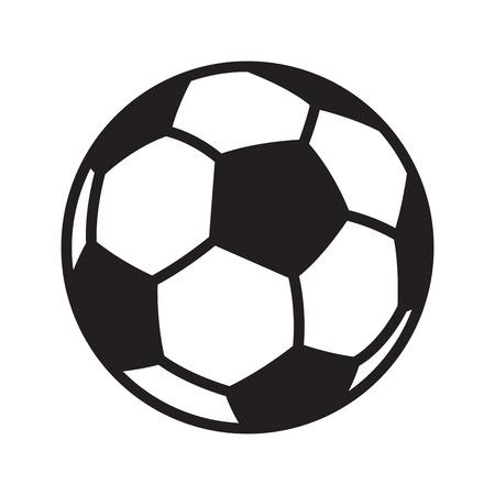 Illustration pour football soccer ball vector logo icon symbol illustration cartoon graphic - image libre de droit