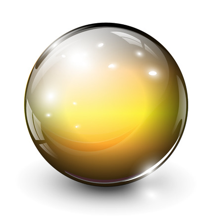glass sphere, ball
