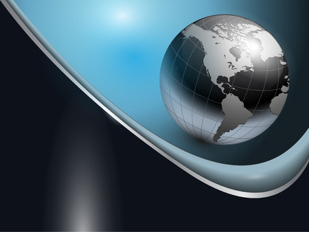 Foto de abstract business background dark blue - Imagen libre de derechos