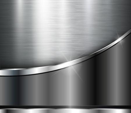 Metallic background shiny steel texture, design.