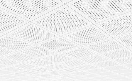 Photo pour Acoustic ceiling tiles - image libre de droit