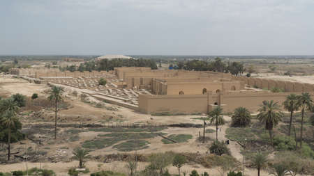 Photo for Ancient city of Babylon, Iraq - Royalty Free Image