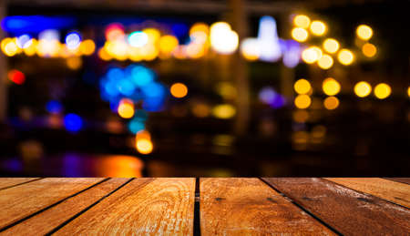 Foto de imaeg of  blurred bokeh background with warm orange lights (blurred) - Imagen libre de derechos