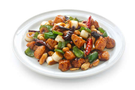 kung pao chicken, chinese food