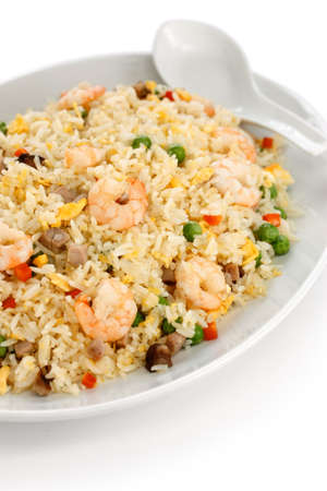 fried rice, chinese cuisine, yangzhou styleの写真素材