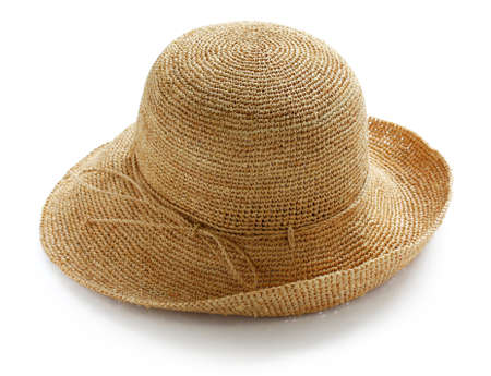 wide brim ladies raffia summer straw hat