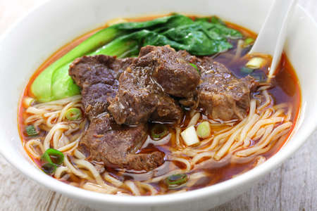 Photo for beef noodle soup, chinese-taiwanese cuisine - Royalty Free Image