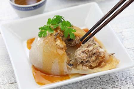 BA wan, bawan, taiwanese mega dumpling, street food