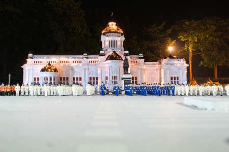 CHONBURI, THAILAND - NOVEMBER 21: A Anantasamakom, Thai palace, was reproduced to mini size in Mini Siam on November 21, 2011 in Chonburi, Thailand
