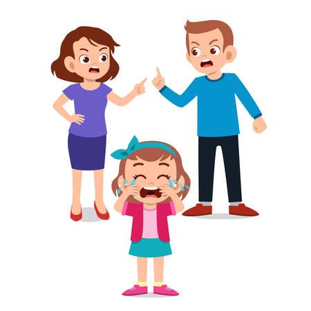 Illustration pour cute kids with parent design vector illustration - image libre de droit