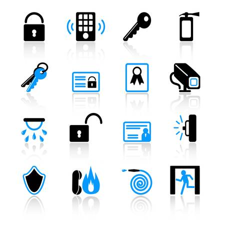 Security icons
