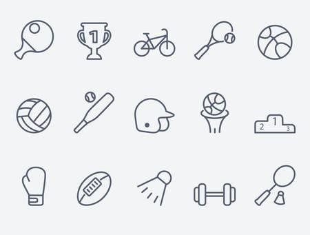 Ilustración de Sport icons - Imagen libre de derechos