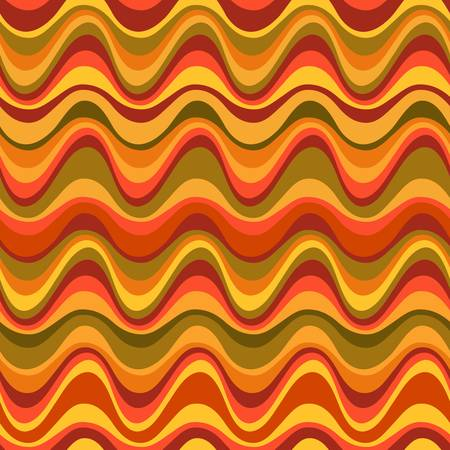 Geometric seamless desert dune pattern  Colorful illustration