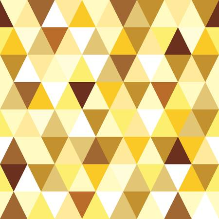 Ilustración de abstract gold seamless triangle pattern illustration - Imagen libre de derechos