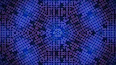 Abstract Background Kaleidoscopically Forms For Desktop