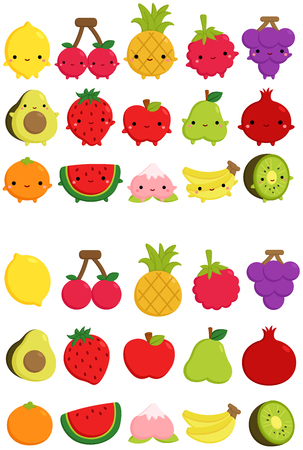 Cute Fruit Icon