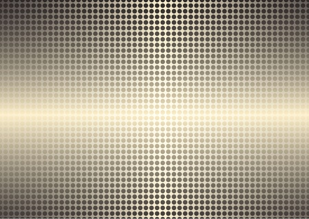 Golden spotted shining background