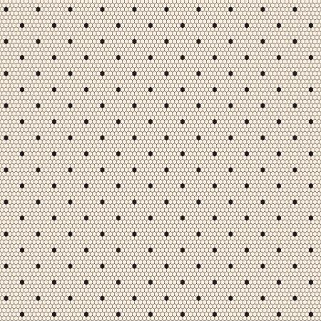 Black elegant dotted lace seamless  pattern