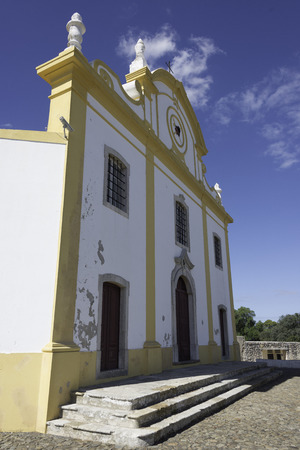 Church of Our Lady of Grace (Igreja de Nossa Senhora da Graca) at Sagres Fortress,Algarve, Portugal