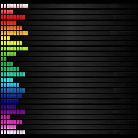 spectrum colorful music volume