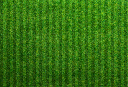 Photo for Green grass soccer field background - Royalty Free Image