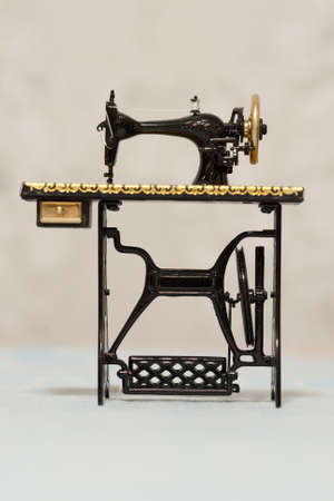 An old classic sewing machine
