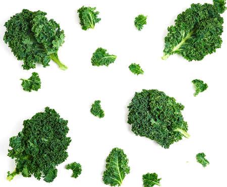 Photo pour Creative layout made of kale. - image libre de droit