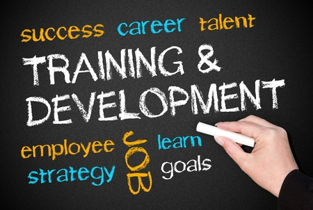 Training and Development - Business Concept
