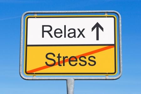 Photo pour Stress and Relax - image libre de droit