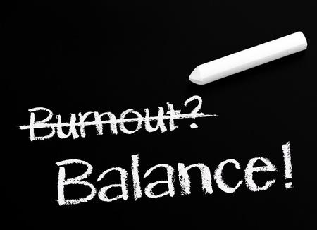 Burnout and Balance