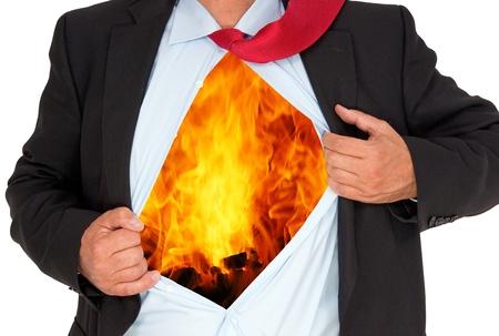 Businessman with Burnout