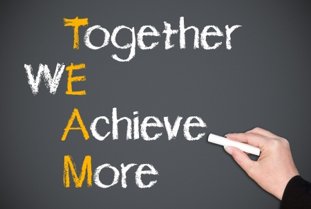 Photo for Together We Achieve More - Royalty Free Image