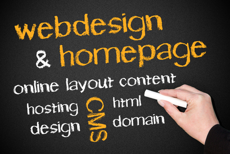 Webdesign and Homepage