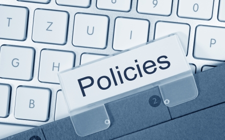 Photo pour Policies - image libre de droit