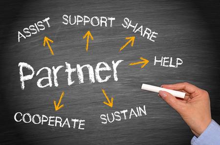 Partner - Business Concept